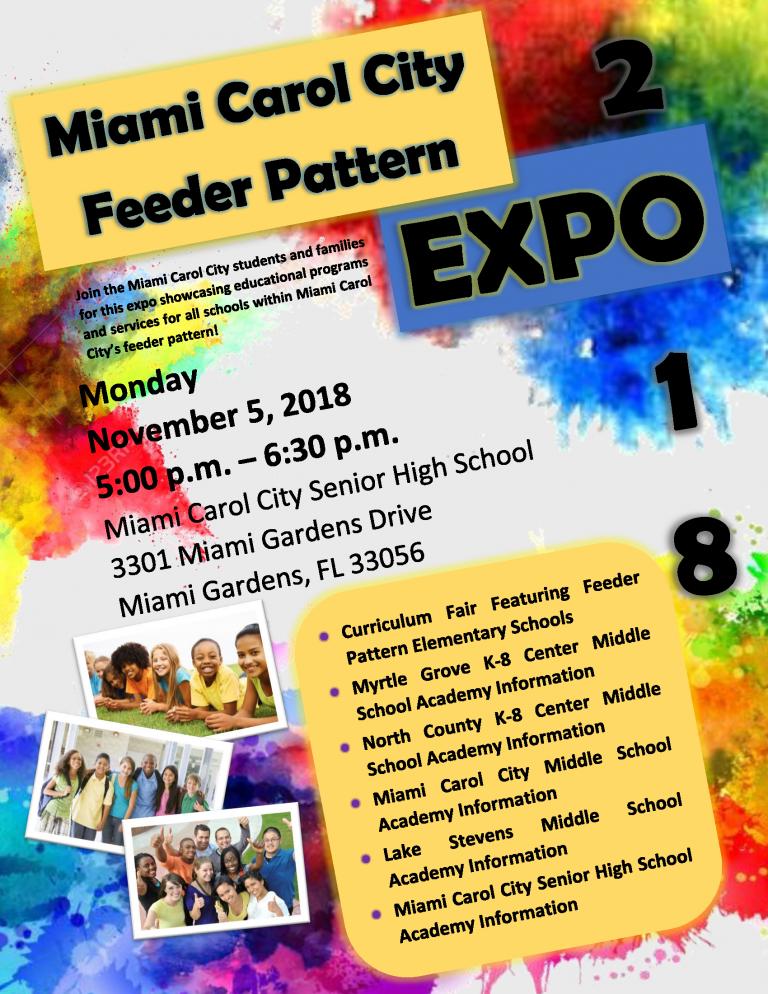 Miami Carol City Feeder Pattern Expo